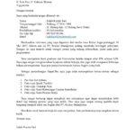 Contoh Surat Lamaran Kerja yang Baik dan Benar