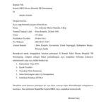 Contoh Surat Lamaran Perawat