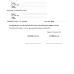 Informasi Penting Dalam Surat Kuasa Pengambilan Gaji