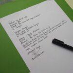 Menulis dengan Tulisan yang Rapi
