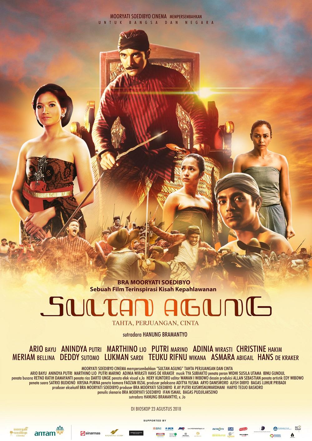 Sultan Agung, Tahta, Perjuangan dan Cinta
