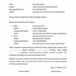 Surat Kuasa Penggunaan Rekening Bank