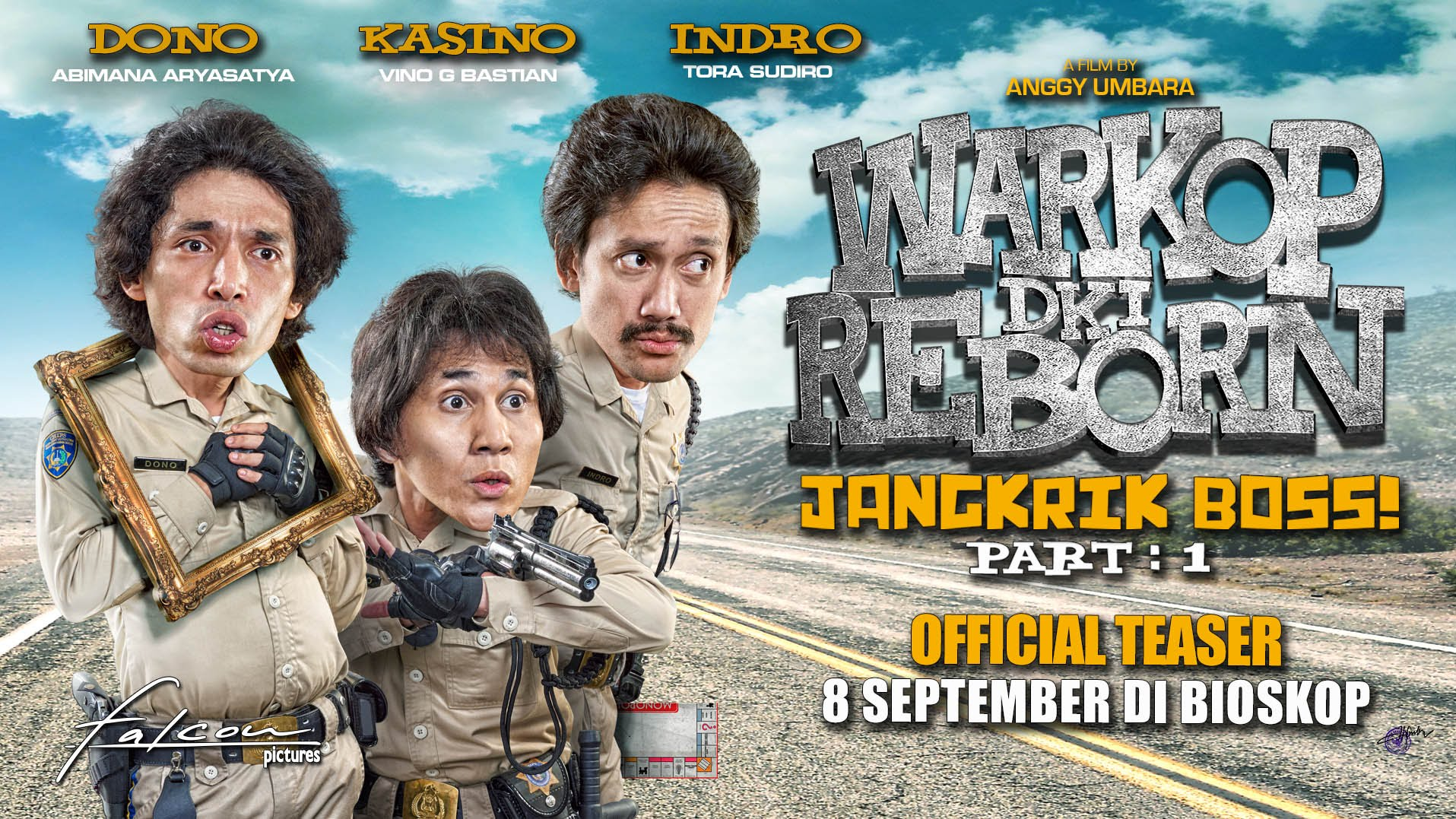 Warkop DKI Reborn Jangkrik Boss Part 1 (2016)