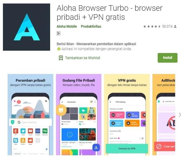 Aloha Browser