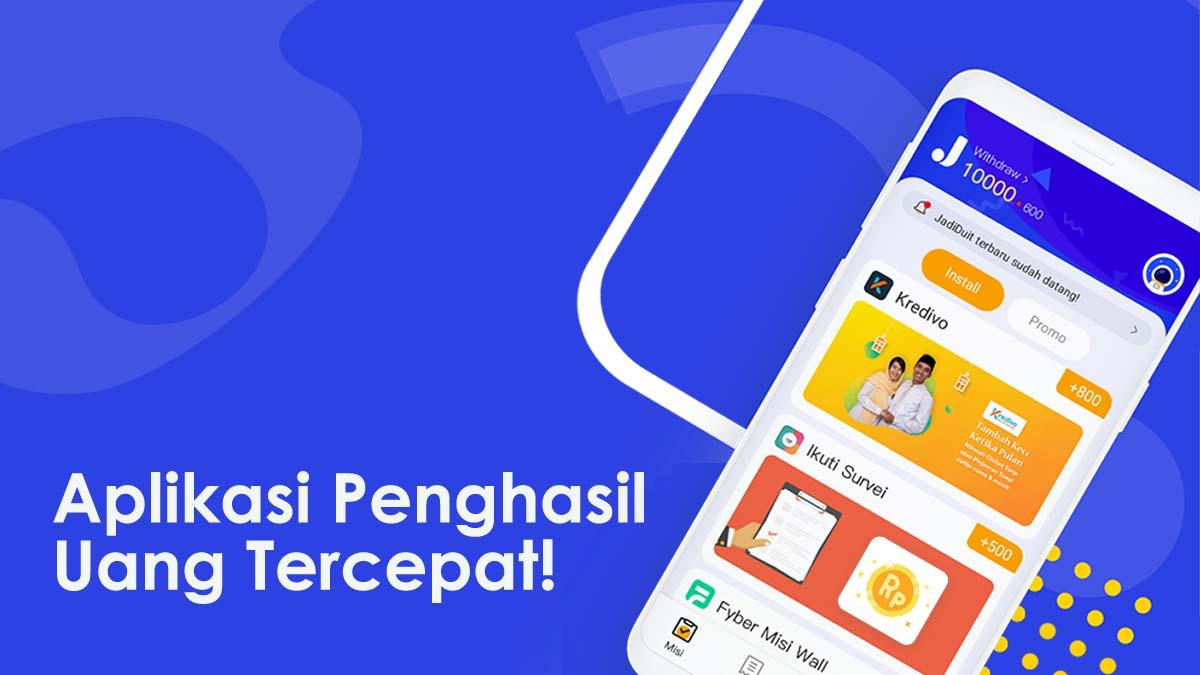 Aplikasi Penghasil Uang JadiDuit