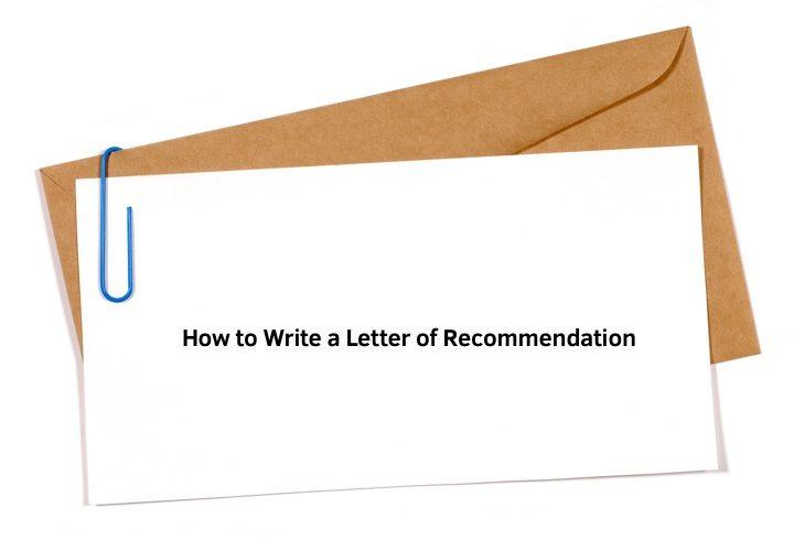 Bagian dan Struktur Surat Rekomendasi