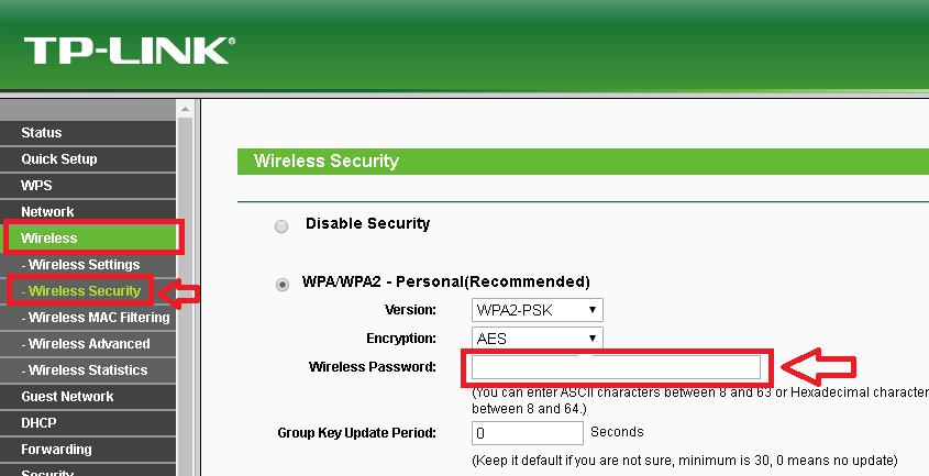 Cara Ganti Password WiFi TP-Link