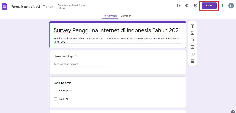 Cara Membagikan Google Form 1
