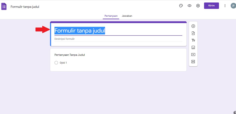 Cara Membuat Google Form di PC & Laptop 2