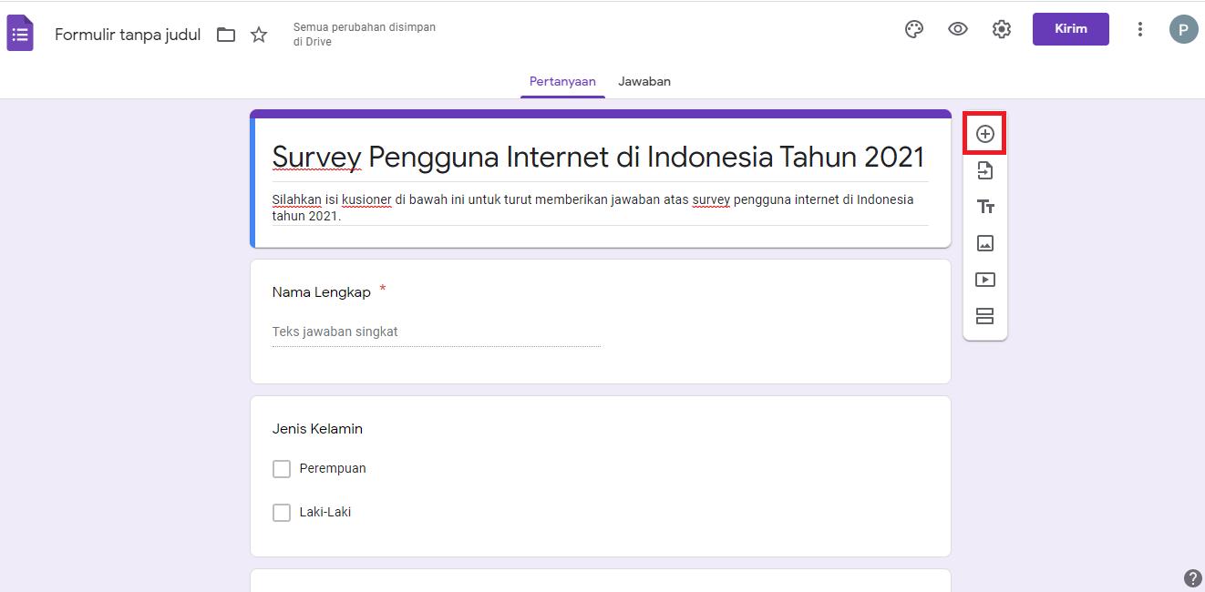 Cara Membuat Google Form di PC & Laptop 3