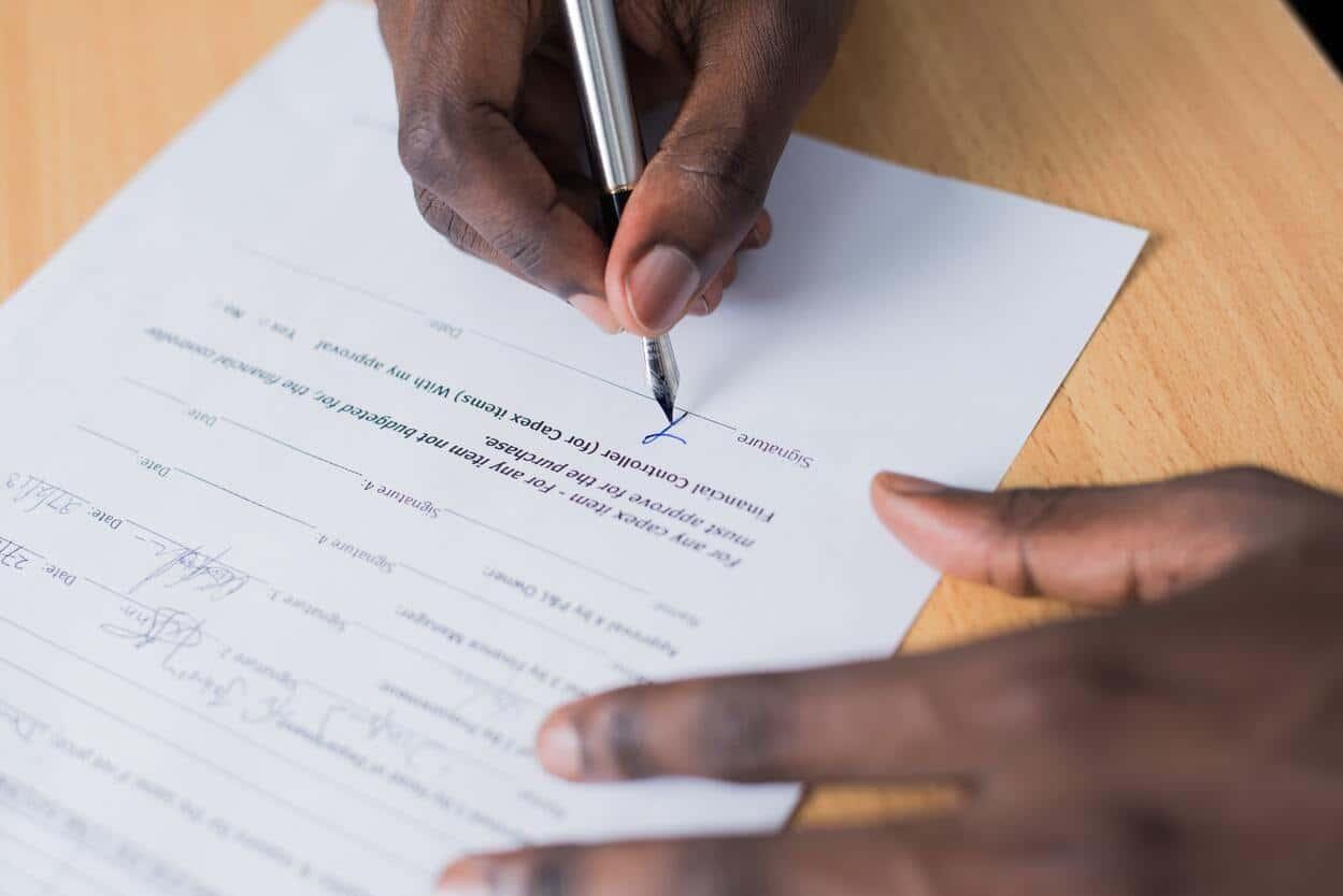 Ciri-Ciri Surat Perjanjian