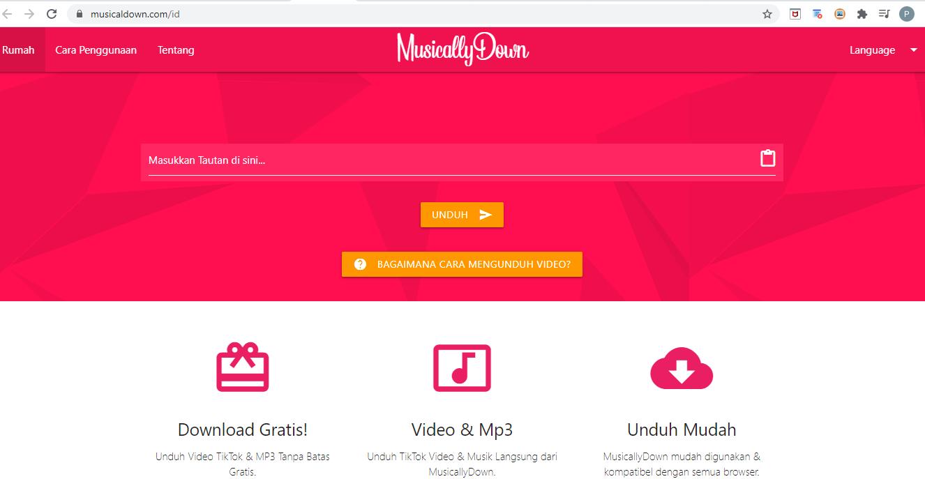 Menggunakan MusicallyMenggunakan Musicallydown.comdown.com