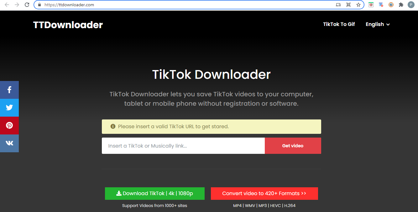 Menggunakan TTDownloader