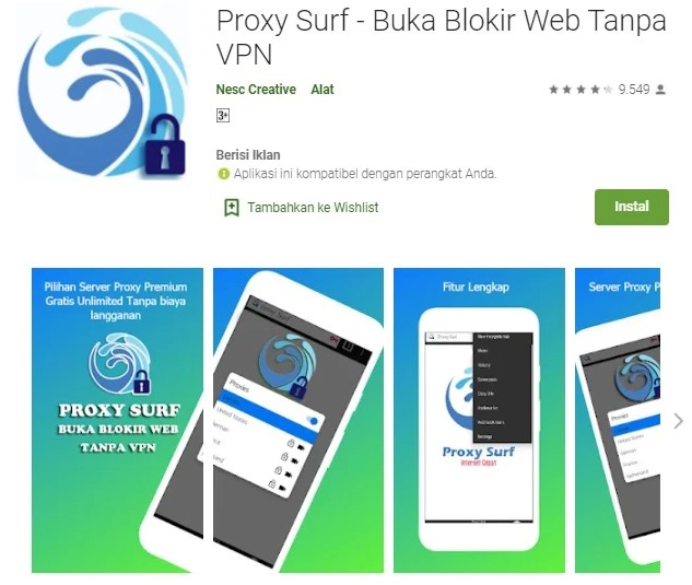Proxy Surf