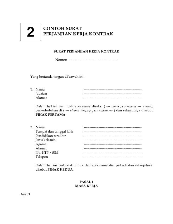 Lengkap 15 Contoh Surat Pernyataan Cara Membuatnya