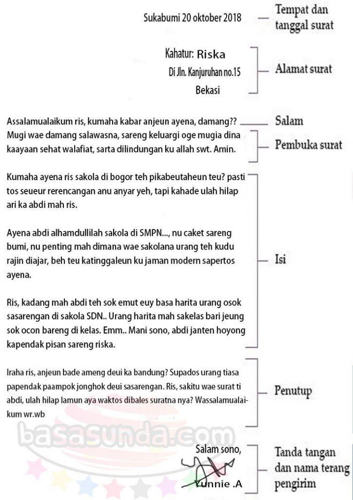 Surat Pribadi Bahasa Sunda