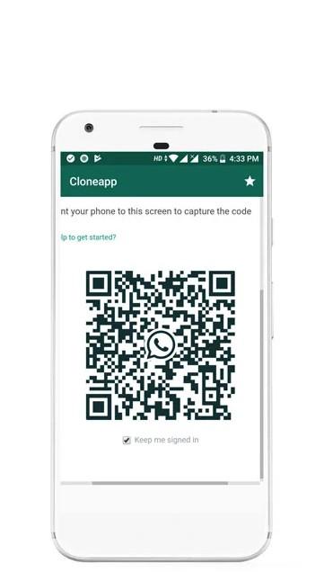 Cara Hack WhatsApp dengan Clone Messenger