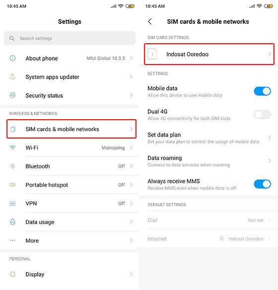 Cara Setting Apn Indosat di Android