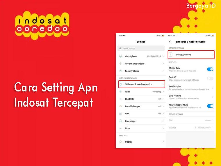 Cara Setting Apn Indosat