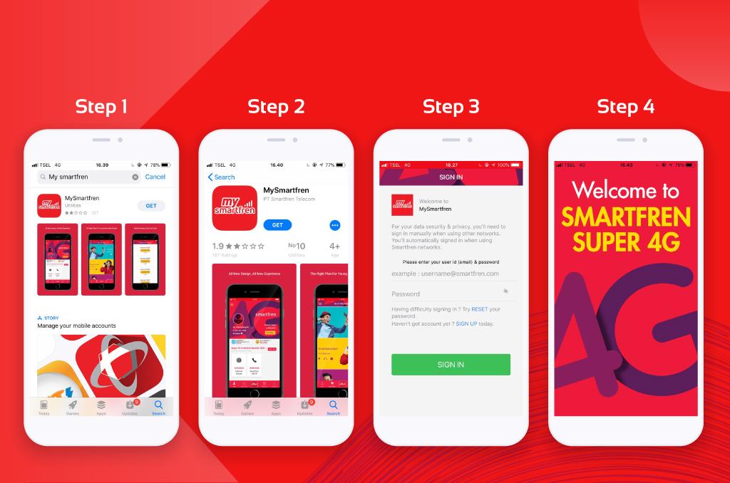 Cek Nomor Smartfren Melalui Aplikasi