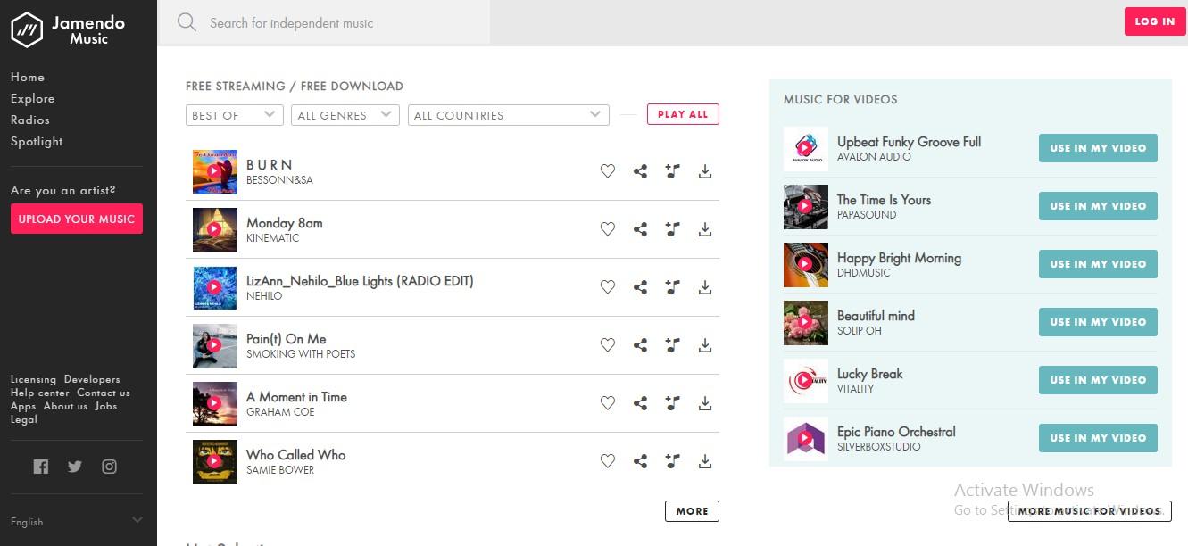 Download Lagu Mp3 Gratis Jamendo
