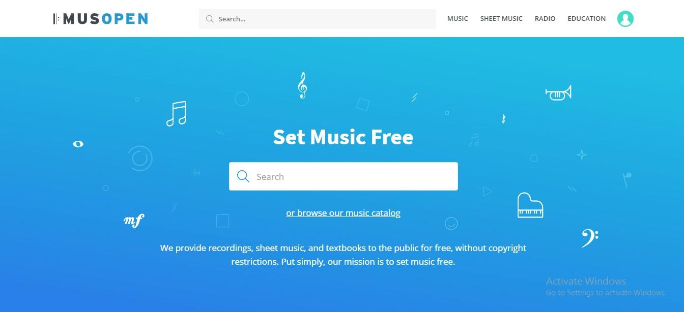 Musopen (Situs Download Lagu Mp3 Gratis Terbaik)