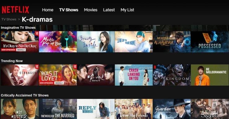 Netflix (situs nonton drama korea)