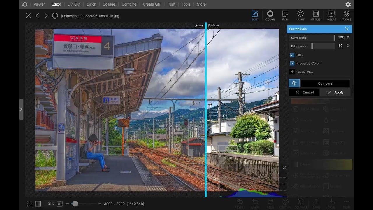PhotoScape (Aplikasi Edit Foto PC)
