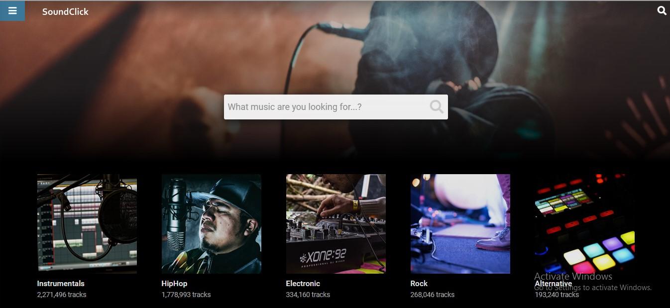 Soundclick (Situs Download Lagu Mp3 Gratis)