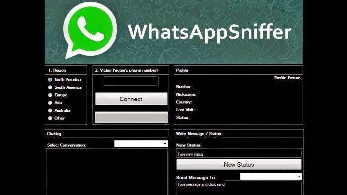 WhatsApp Sniffer (Aplikasi Sadap WA)