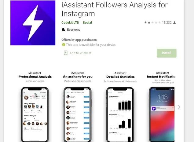 iAssistant Followers Analysis
