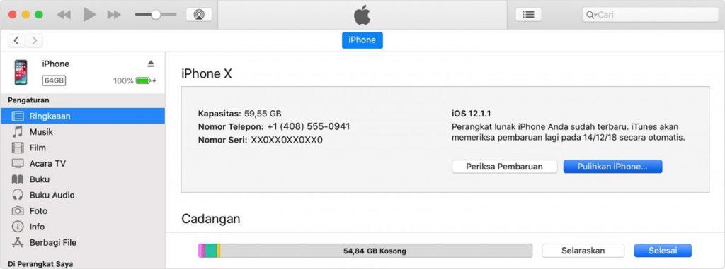iTunes IMEI iPhone