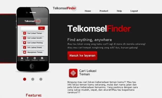 Cara Melacak Lokasi dengan Telkomsel Finder