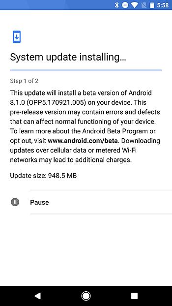 Cara Update Android Melalui OTA