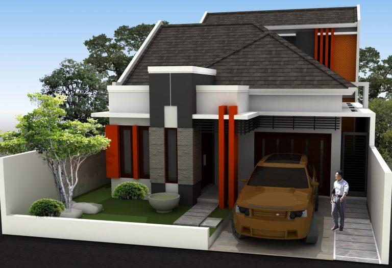 Bagian Fasad Rumah Type 45