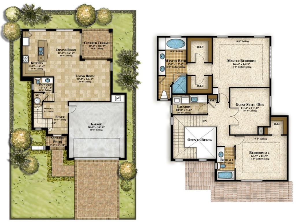 Denah Ruang Rumah Sederhana Tapi Mewah