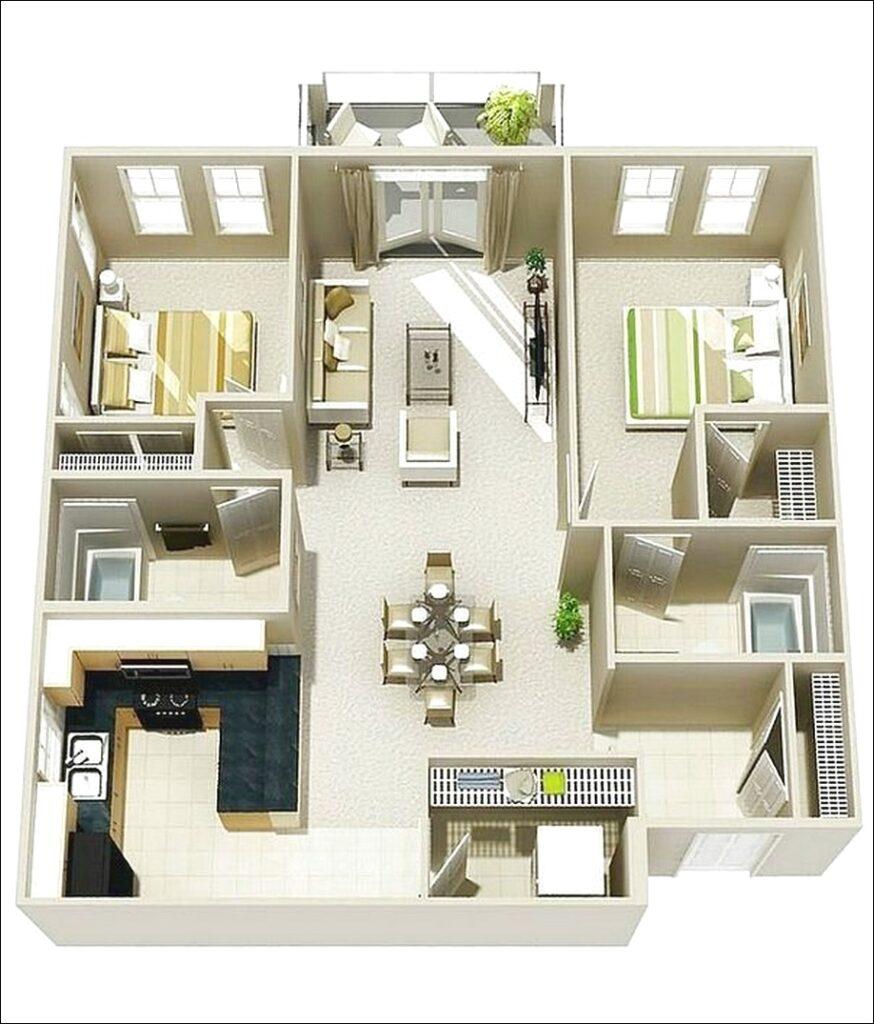 Denah Rumah Sederhana Tapi Kelihatan Mewah