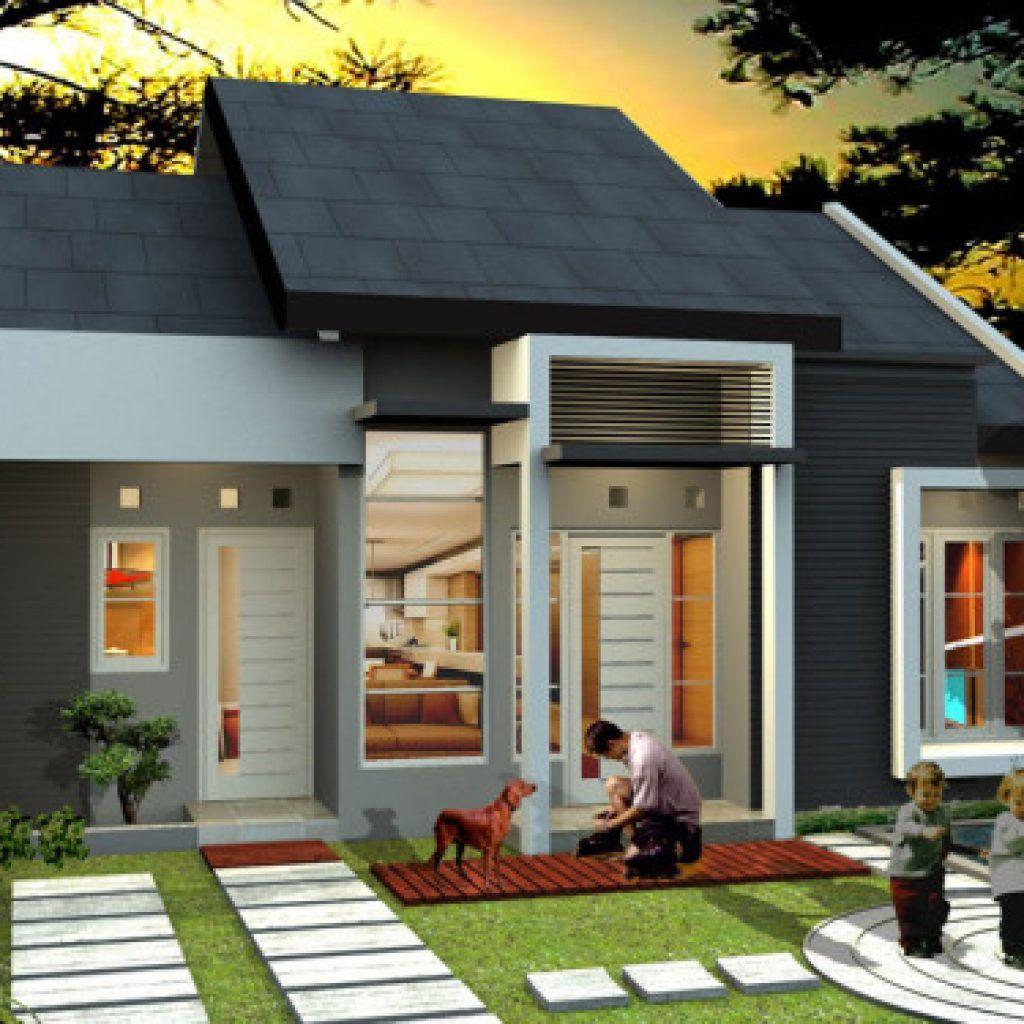 Desain Eksterior Rumah Type 45