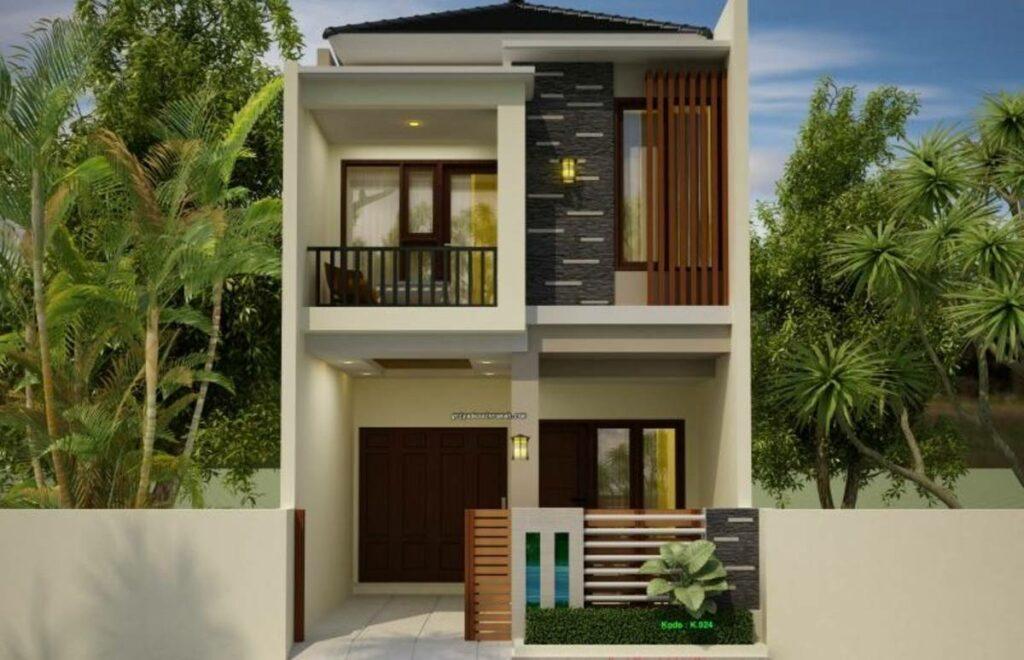 Desain Rumah 2 Lantai 6x12