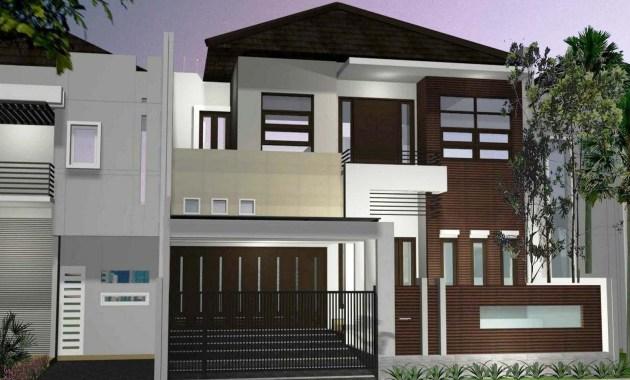 Desain Rumah Minimalis 2 Lantai 6x12 Modern