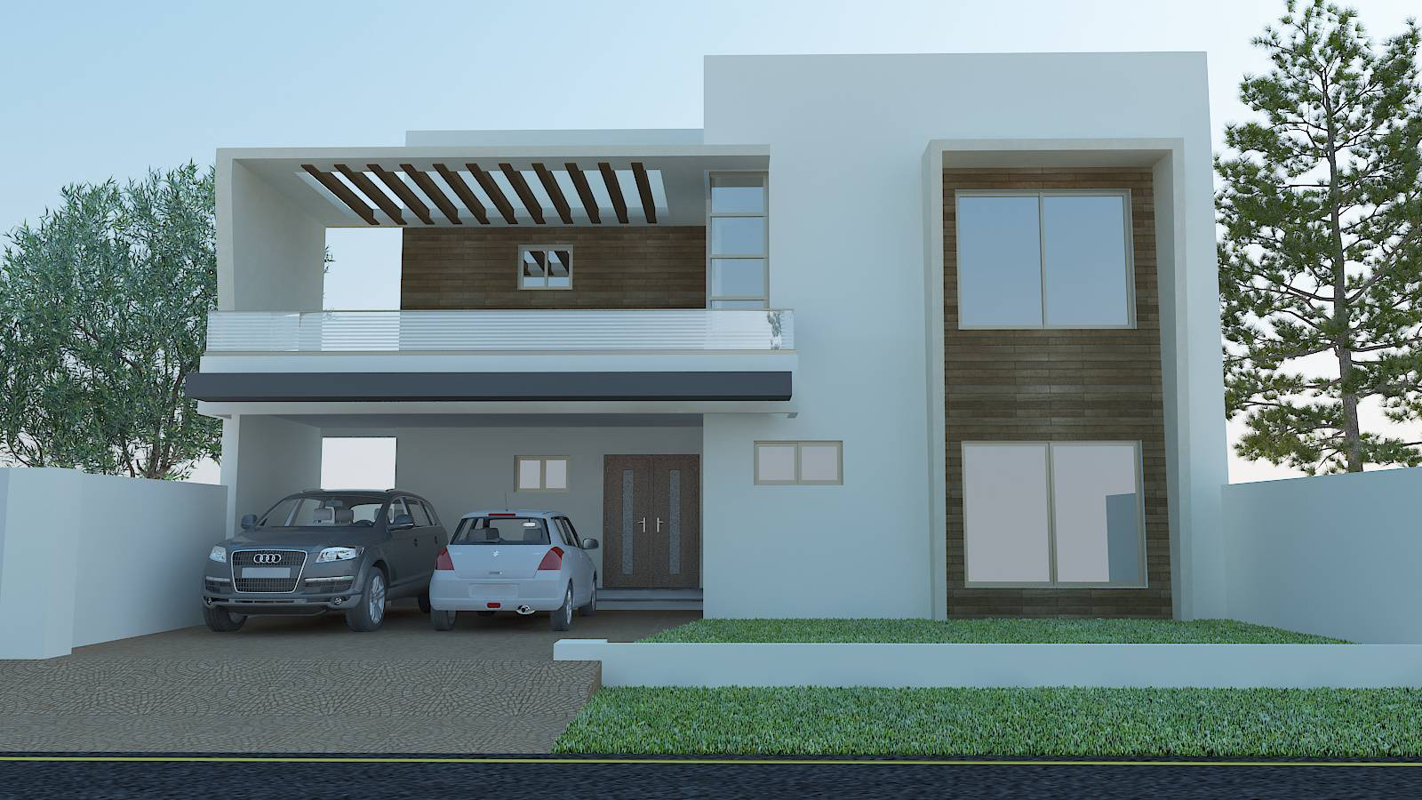 Desain Rumah Type 45 Minimalis 2 Lantai