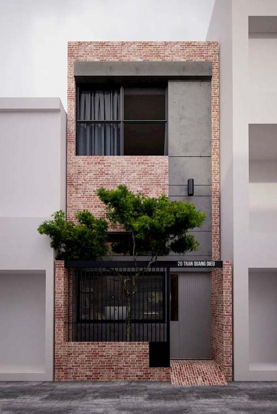 Fasad Depan Rumah Minimalis 2 Lantai