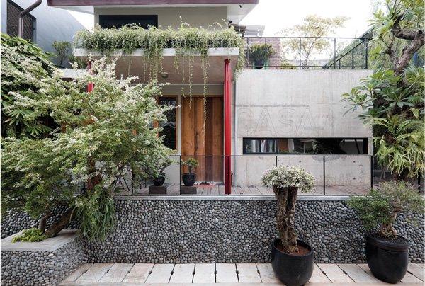 Fasad Rumah 2 Lantai Minimalis