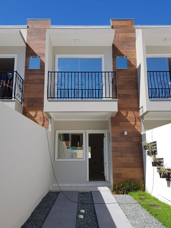 Model Fasad Rumah Minimalis 2 Lantai