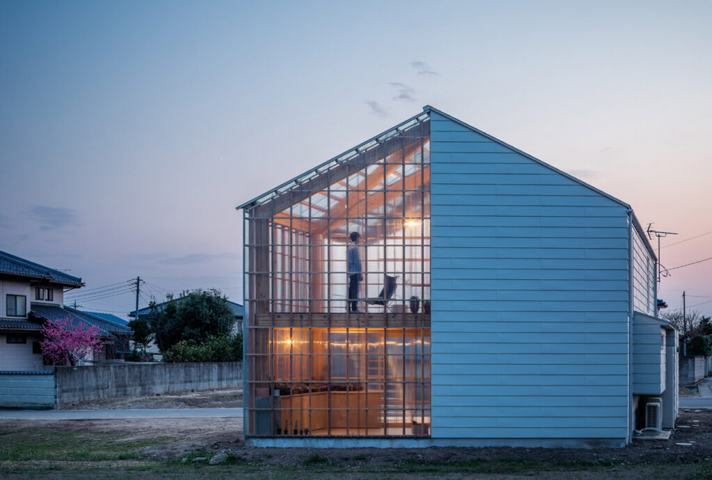 Rumah Minimalis 2 Lantai Ala Anime