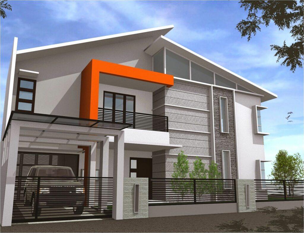 Rumah Minimalis 2 Lantai Ukuran Besar