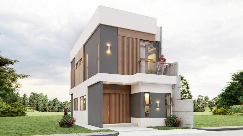 Rumah Modern 2 Lantai