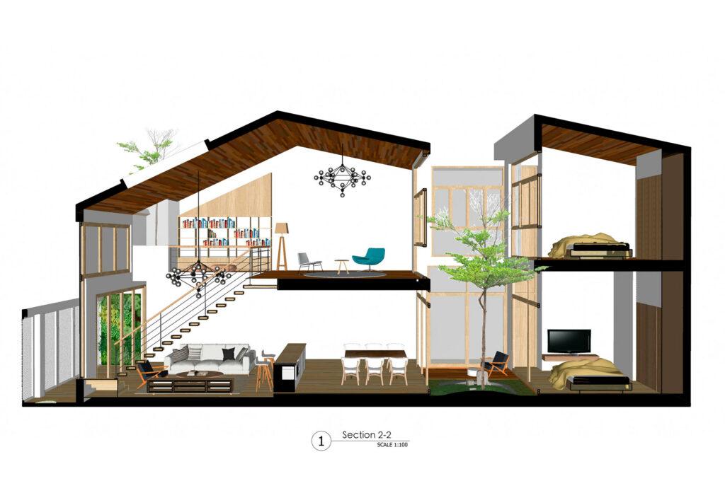 Tampak Dalam Rumah Minimalis 2 Lantai